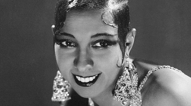 Josephine Baker is black female entertainer who entertained many female lovers during marriages to 4 husbands.