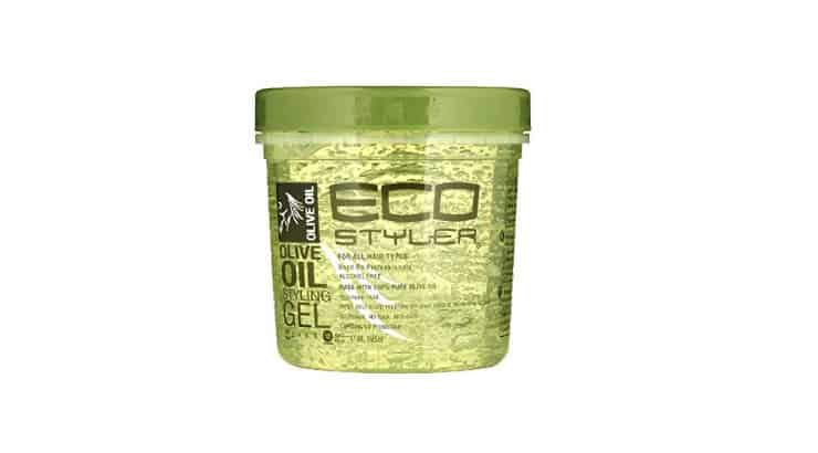 ECO Styler is a popular gel among black women because it doesn't cause the hair to flake.