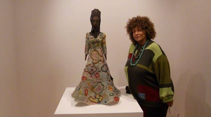 Joyce J. Scott is a well-known artists who is prominently known for her bead work.