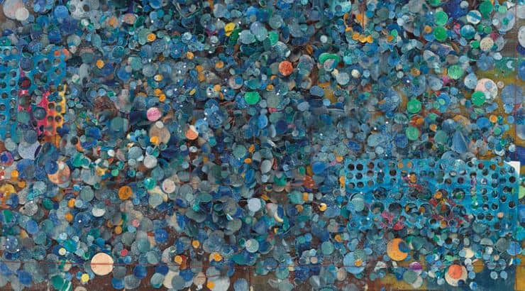 Howardena Pindell's abstract art has landed in museums like the MoMA and Metropolitan Museum of Art.