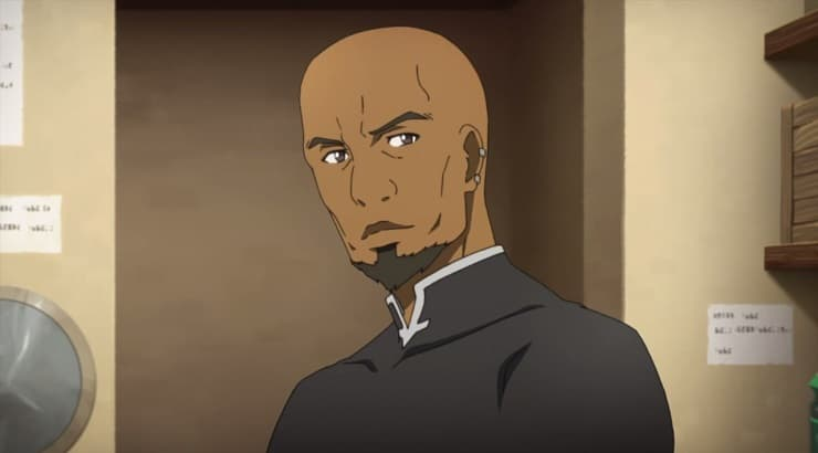 "Andrew Gilbert Mills is a black anime character in ""Sword Art Online."""