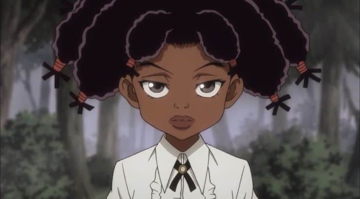 Canary is a black female anime character on Hunter x Hunter.