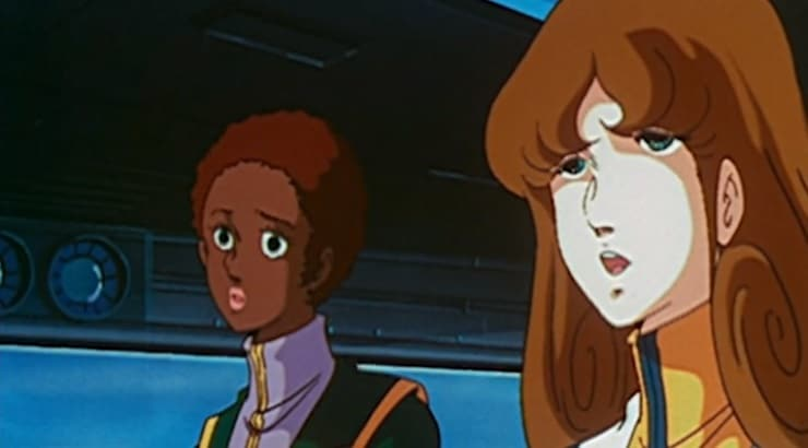 Claudia Grant is a confident, black female anime character on Robotech.
