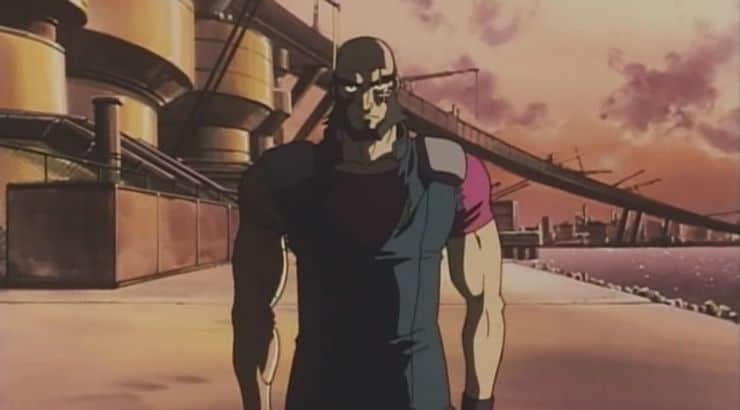 "Jet Black is an anime character on the TV series ""Cowboy Bebop."""