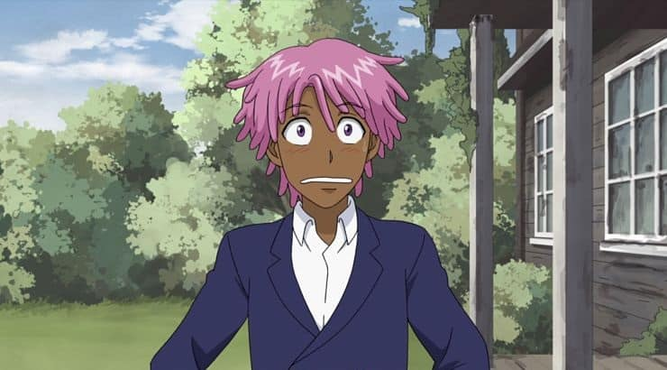 "Kaz Khan is a black anime character voiced by Jaden Smith in the Netflix original, ""Neo Yokio."""