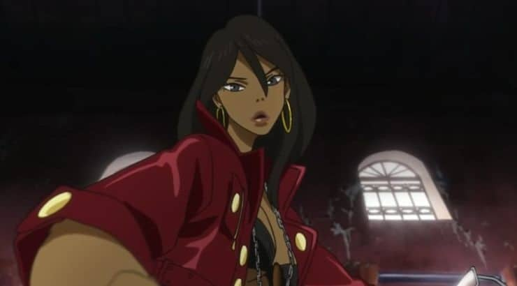 Michiko is a black female anime character said to be designed off of Aaliyah.