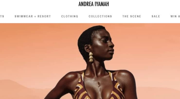 Andrea Iyamah is a black-owned brand with fashion that focuses on many African prints.