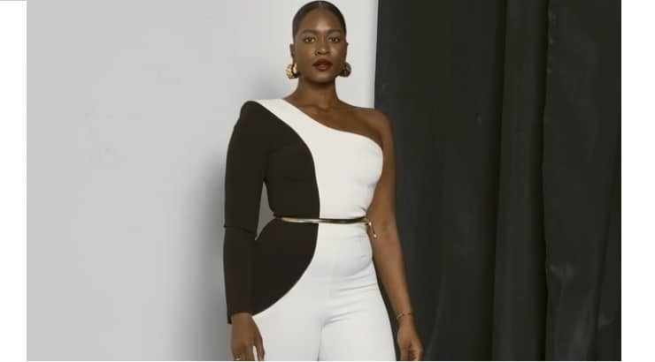 Hanifa is a feminine and chic brand that is made by a black woman for women sizes 0-20.