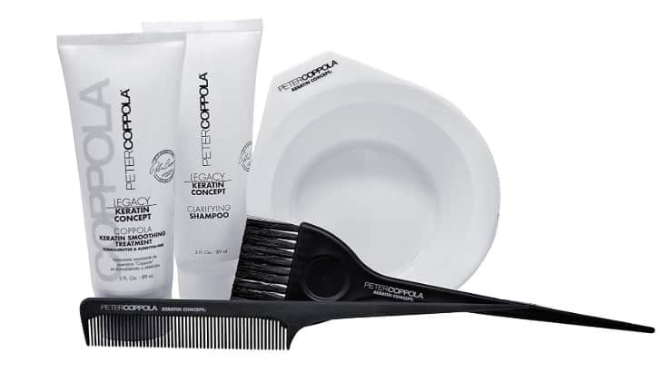 PETER COPPOLA's keratin treatment is one product that you can use without needing to wait before shampooing or exercising.