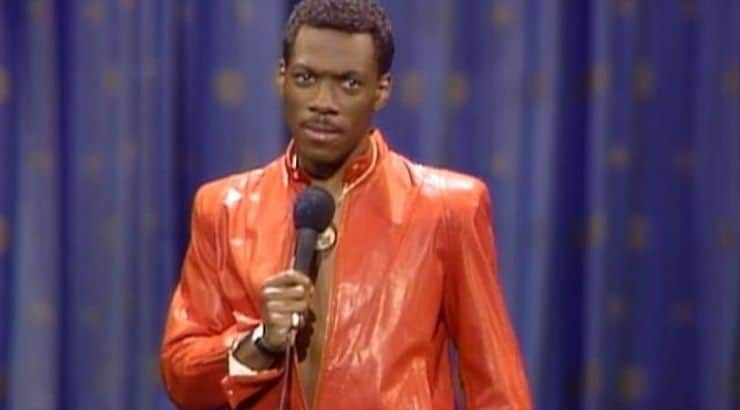 While Eddie Murphy is known as an actor, the comedian first got his professional start as a stand-up comic.