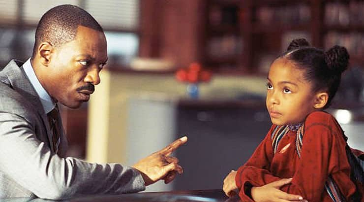 Imagine That is the 2009 film starring Eddie Murphy and Yara Shahidi as a father-daughter duo.