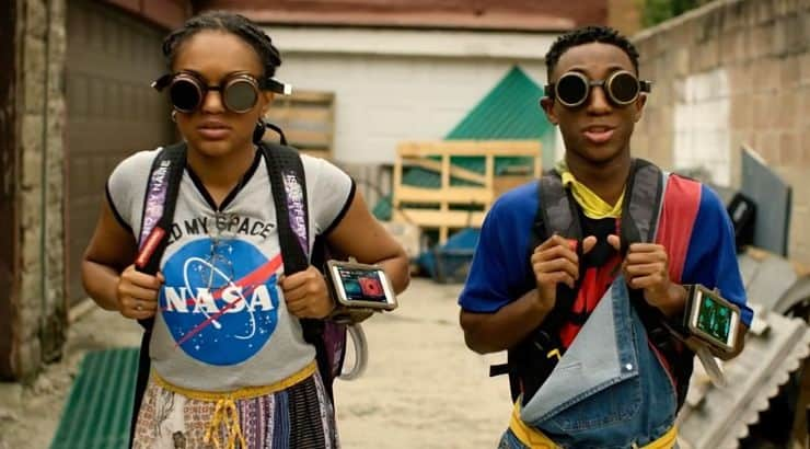 See You Yesterday is a science-fiction comedy film about a young prodigy who makes time machines.