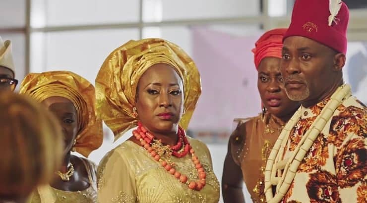 The Wedding Party is a Nigerian Hollywood movie that follows the ups and downs of a couple on their wedding day.