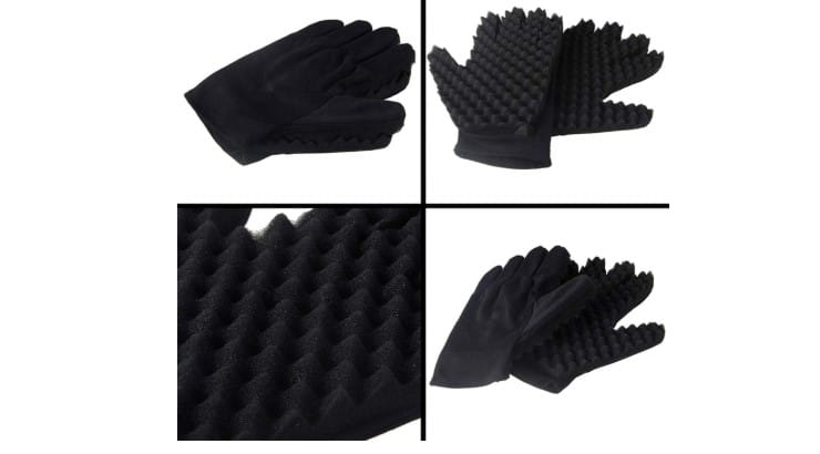 Magic Hair Curling Sponge Gloves are an alternative to the common brush purchased by many users.