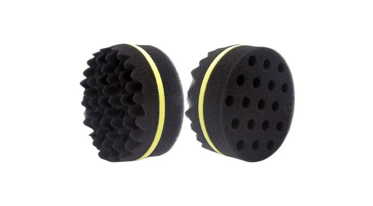 Waker 2 in 1 Sponge is a curl sponge that will also help your hair grow by stimulating your scalp.