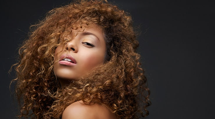 Black Girl With Curly Hair Wig