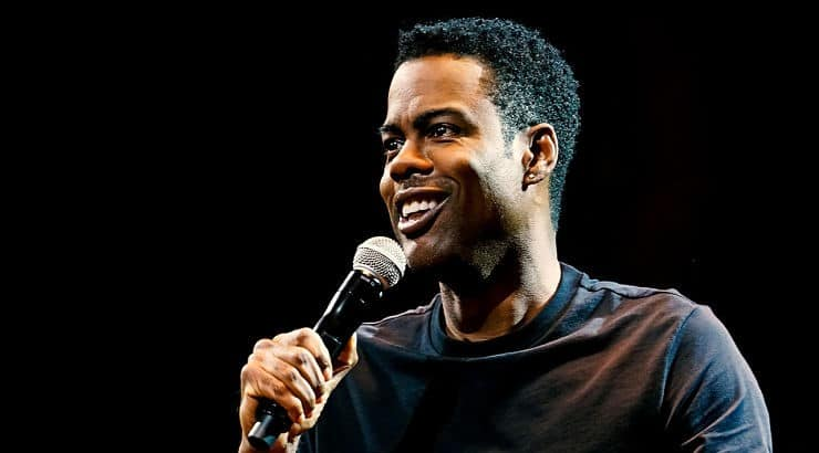 """Chris Rock appears in his own Netflix stand up special called """"Tamborine"""" which was released in 2018."""
