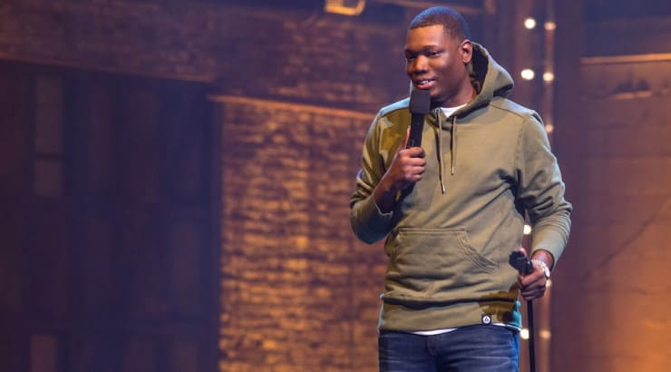 SNL writer Michael Che hosts his own stand up special in Brooklyn where he discusses inequality and gentrification.