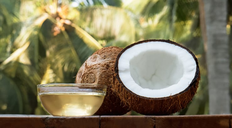 Coconut Oil Is Popular In The Carebbean As A Healthy Food