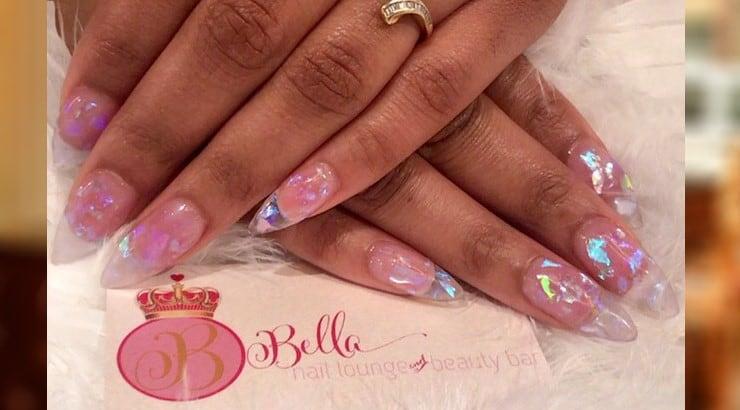 The Bella Nail Lounge and Beauty Bar is a nail salon in Newark, NJ.