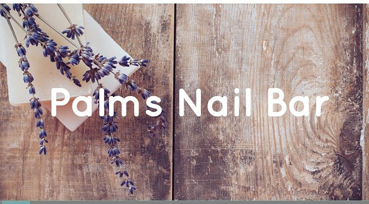 Palms Nail Bar has add on services that include glow in the dark nails and chrome powders.