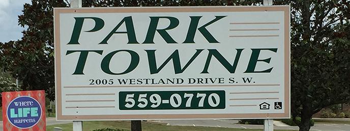 Parktowne Sign