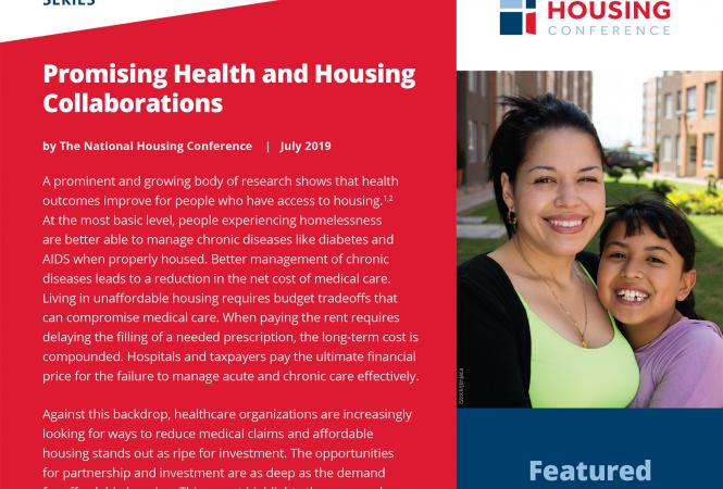 THDA Program Highlighted in National Housing Conference Report
