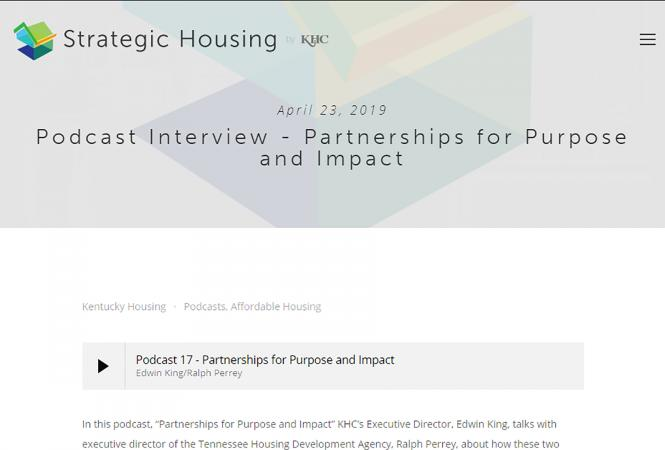 Podcast Interview - Partnerships for Purpose and Impact
