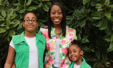 Sa'Mia Mosley is a new Habitat Homeowner