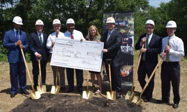 THDA celebrates Dismas House groundbreaking with $500,000 grant