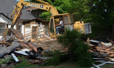 Blight Demolition Begins