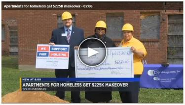 THDA grant helps Memphis nonprofit create homes for homeless