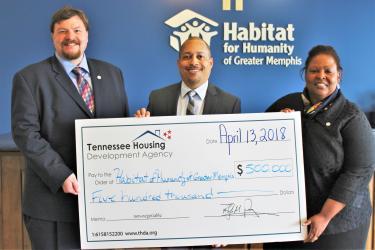 Memphis Habitat meets & beats THDA challenge