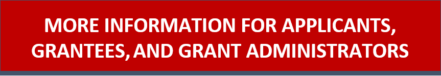 Applicant and Grant Administrator Info