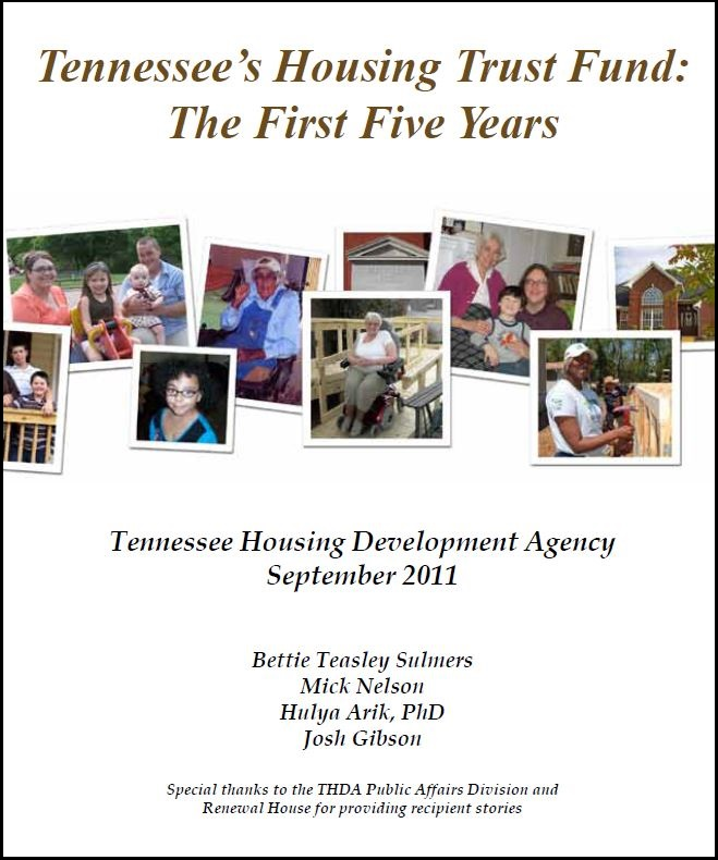 Research Publications — Tennessee Housing Development Agency