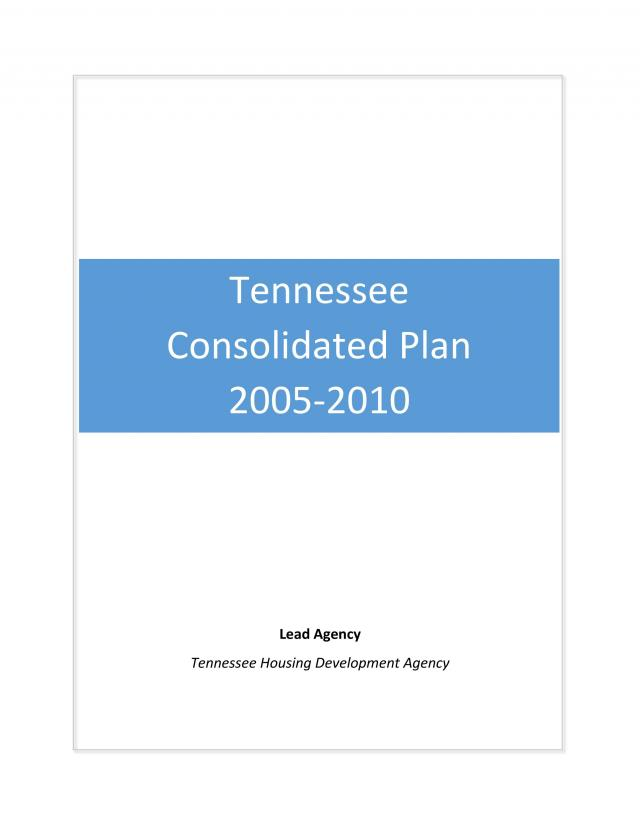 2005-2010 Consolidated Plan