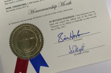 THDA tops $7.5 million in down payment assistance as Homeownership Month begins