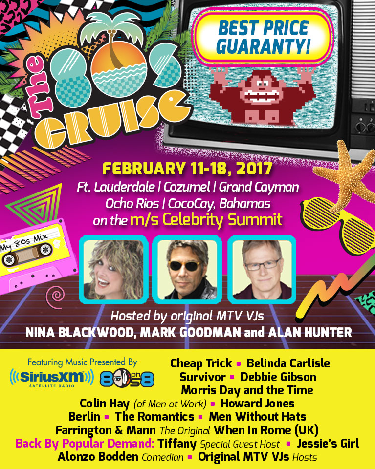 The 80s Cruise - Brought to you by Sirius XM - 80s on 8