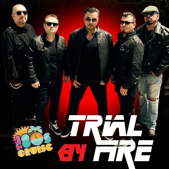 Trial By Fire Is A Los Angeles Based Classic Rock Group Growing Up In The 80s Brothers Bill Eric Mondragon Had Strong N Roll Background