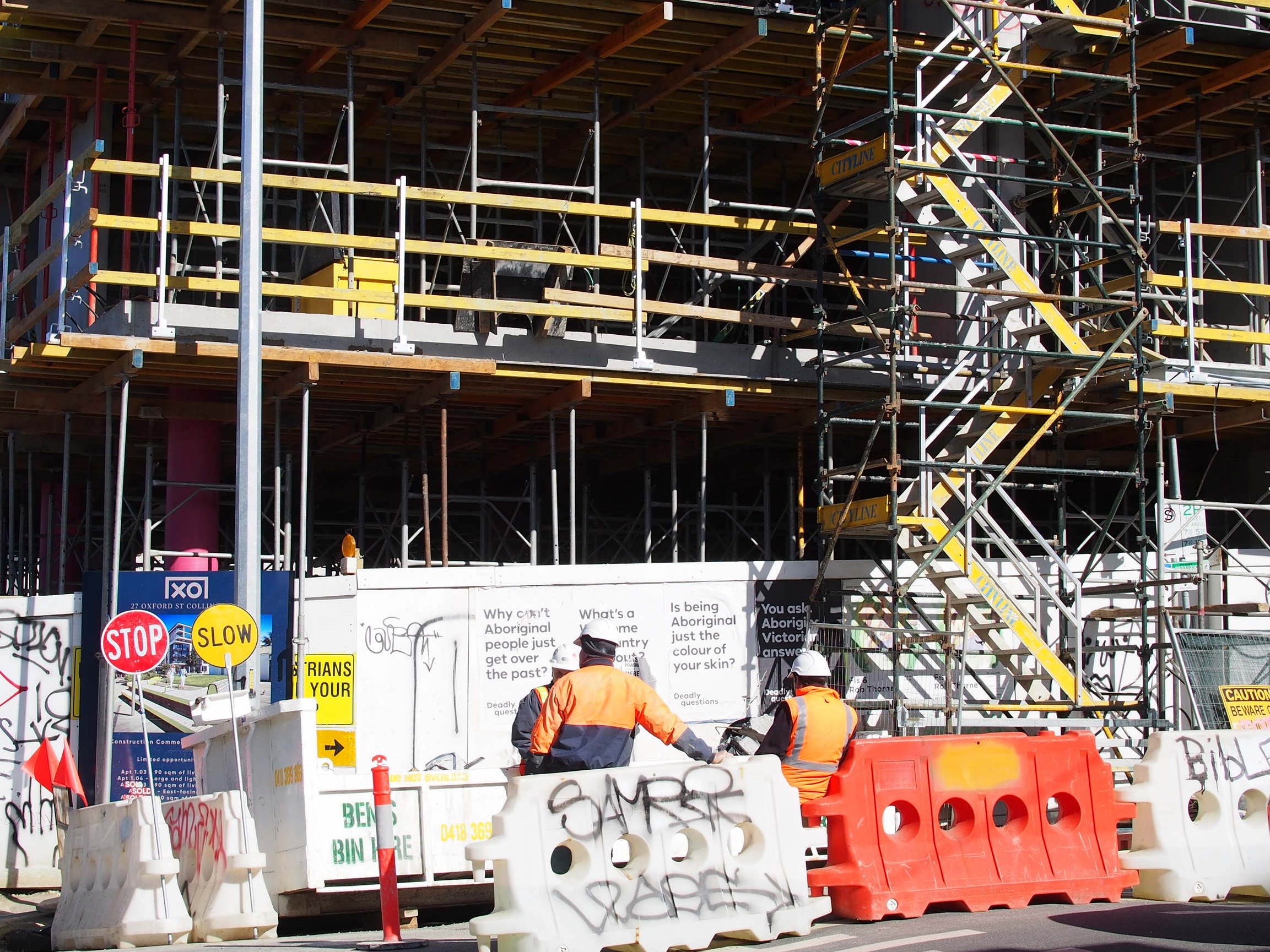 Slipping construction numbers point to lean times for Melbourne's tradies
