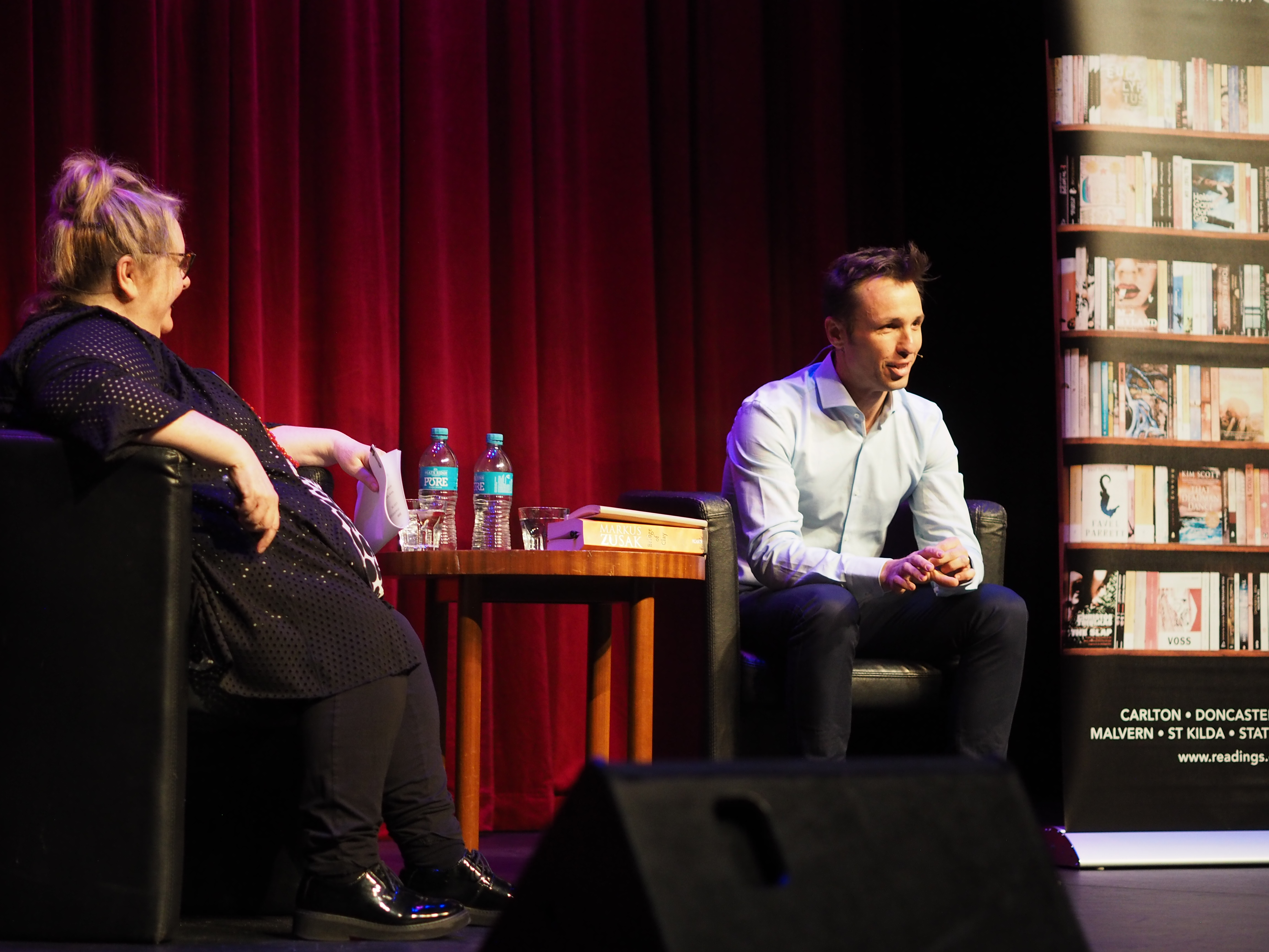 Markus Zusak on creativity, struggle, and the burden of success