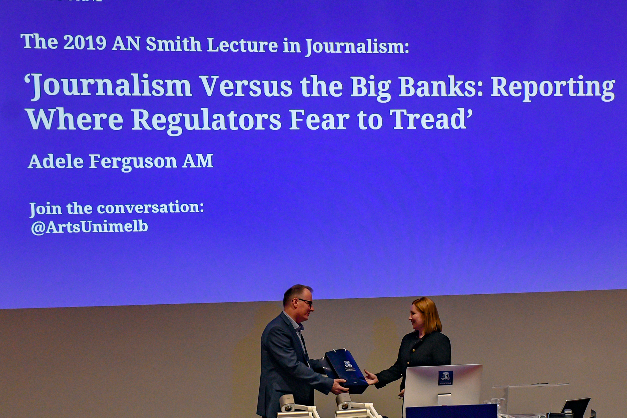 On dodgy banks, wobbly regulators, plucky whistleblowers and feisty journalism
