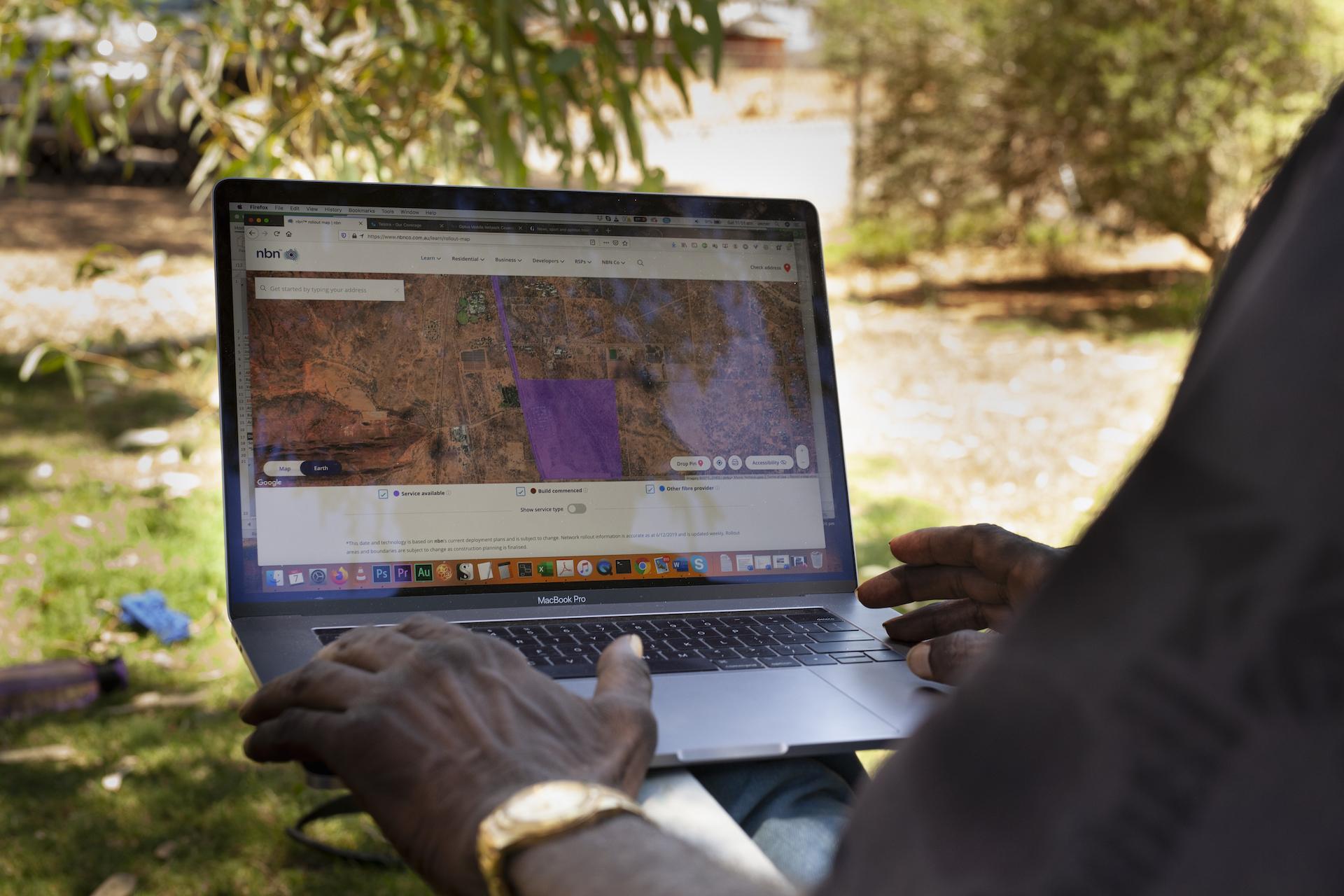 In town camps of Alice, coronavirus raises stakes of digital divide