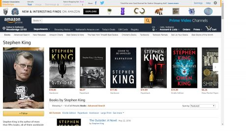 Amazon is Beta-Testing New Author Pages Amazon Self-Pub