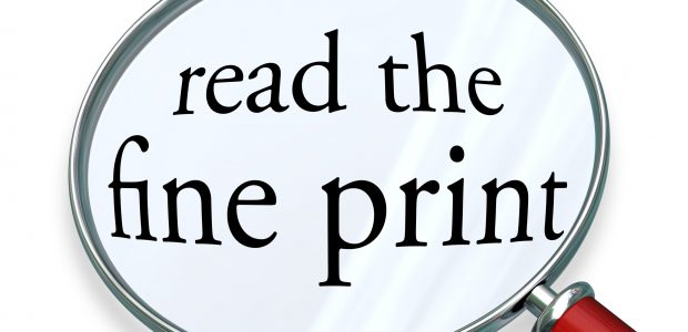 """Guest Post: If Small Print """"Terms and Conditions"""" Require a PhD to be Understood, Should They be Legally Binding? Legal"""