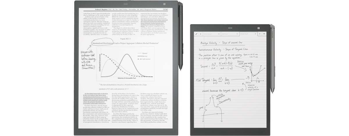 """Sony DPT-CP1 10.3"""" Writing Slate is Coming to the US for $600 e-Reading Hardware"""