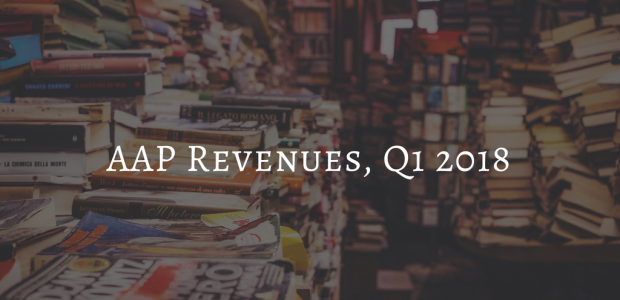 AAP Reports Trade Revenues Up 6.3%, eBook Revenues Down 3.2% in First Quarter AAP ebook sales