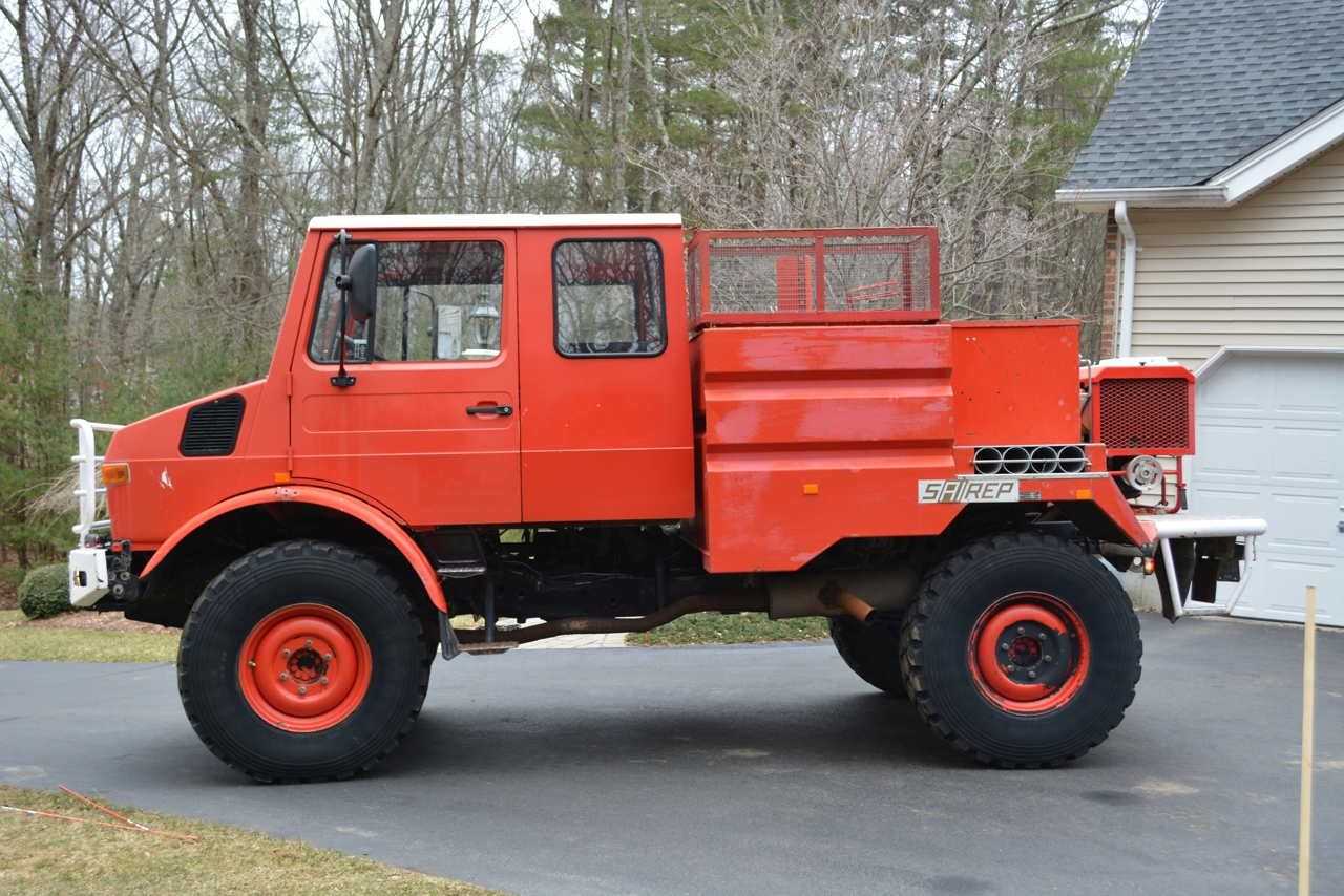 Rule the Roost With This 1987 Mercedes-Benz Unimog - The Drive