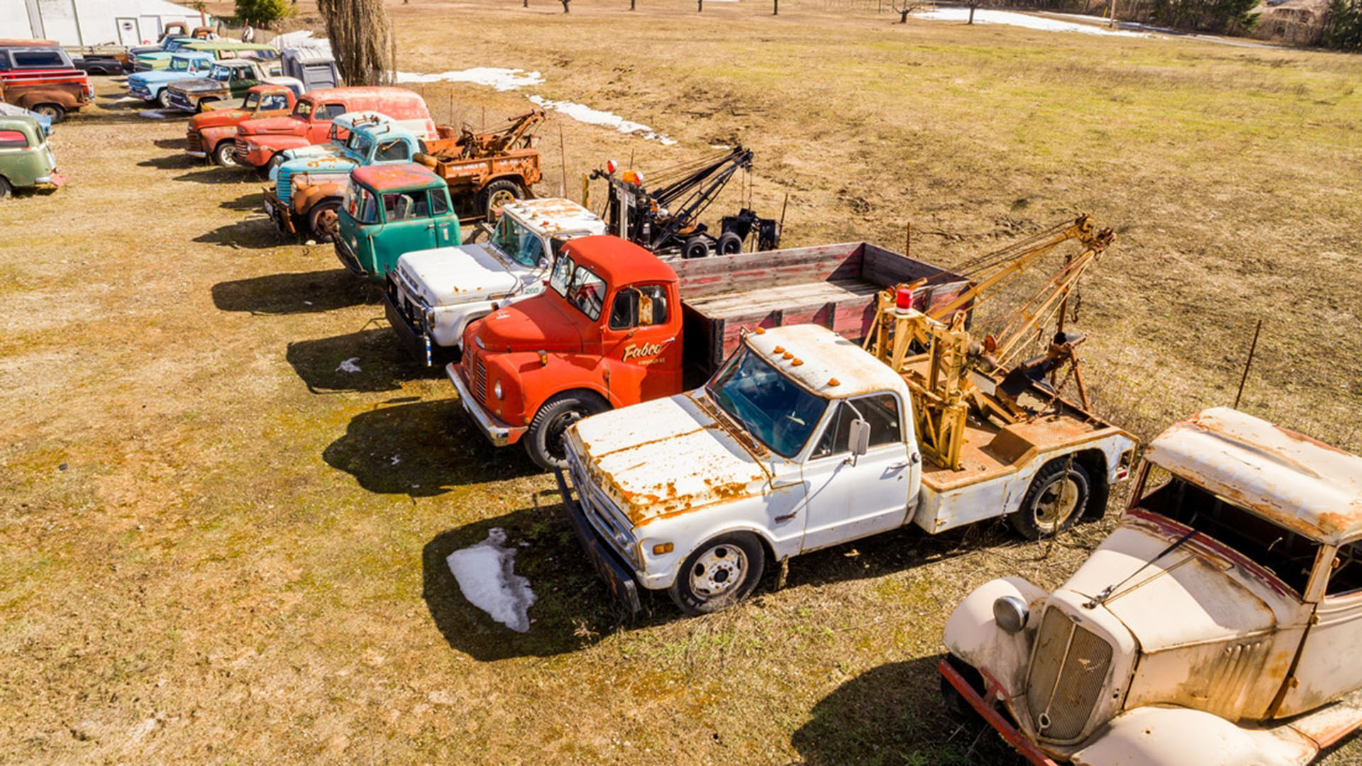 For Sale In Canada Five Acres 340 Vintage Cars