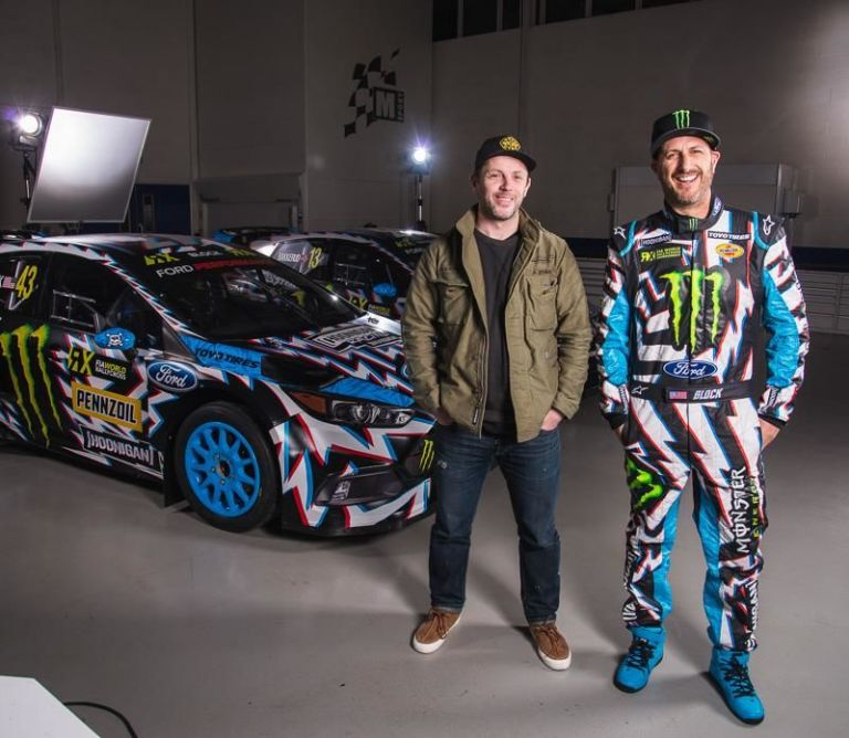 The 2017 Ford Focus RS RX's Hoonigan Livery Is Unmissable ...